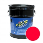 Plasti Dip 5Gal - Fluorescent Red